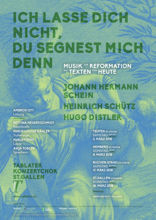Flyer Konzert Reformation